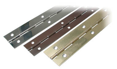 Continuous Piano Hinge 38mm Nickel Plated