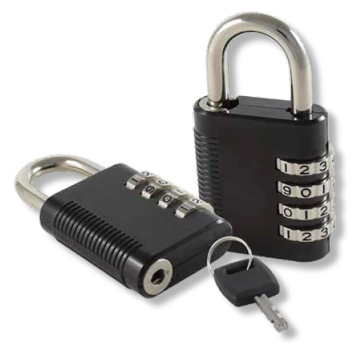 4 Wheel Combination Padlock Padlock Handles And Padlocks