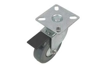 Fork Castors 50kg Braked Fork Castors 50kg Braked Details     Wheel=50x16mm Height=72mm   50kg