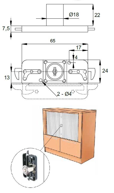 Roller Shutter Door Lock Roller Shutter Door Locks
