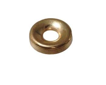 Brass Plated No 9 Screw Cup Brass Plated No 9 Screw Cup Details  No. 8 Screw Cup Colour : Electro Brass Hole Size : 5.4mm Overall Dimension : 13.8mm Pack size = 100pcs