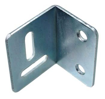Angle Stretcher Plate / 25 x 30 x 38mm (Pack of 10) Zinc Plated