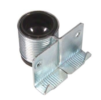 Steel outer/plastic adjuster   Height: 30mmAdjustment: 20mm   Weight capacity 100kg