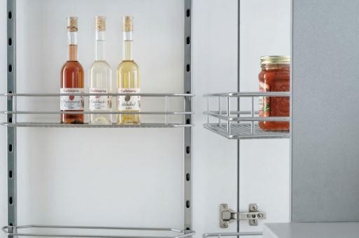 600mm Swing Out Pantry Unit 1900-2140mm (Dimensions)