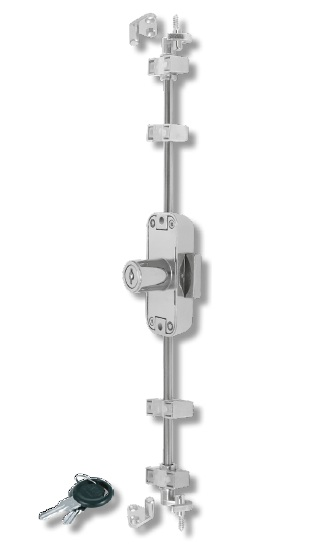 Rounded Espagnolette Lock With Nozzle Espagnolette Locks