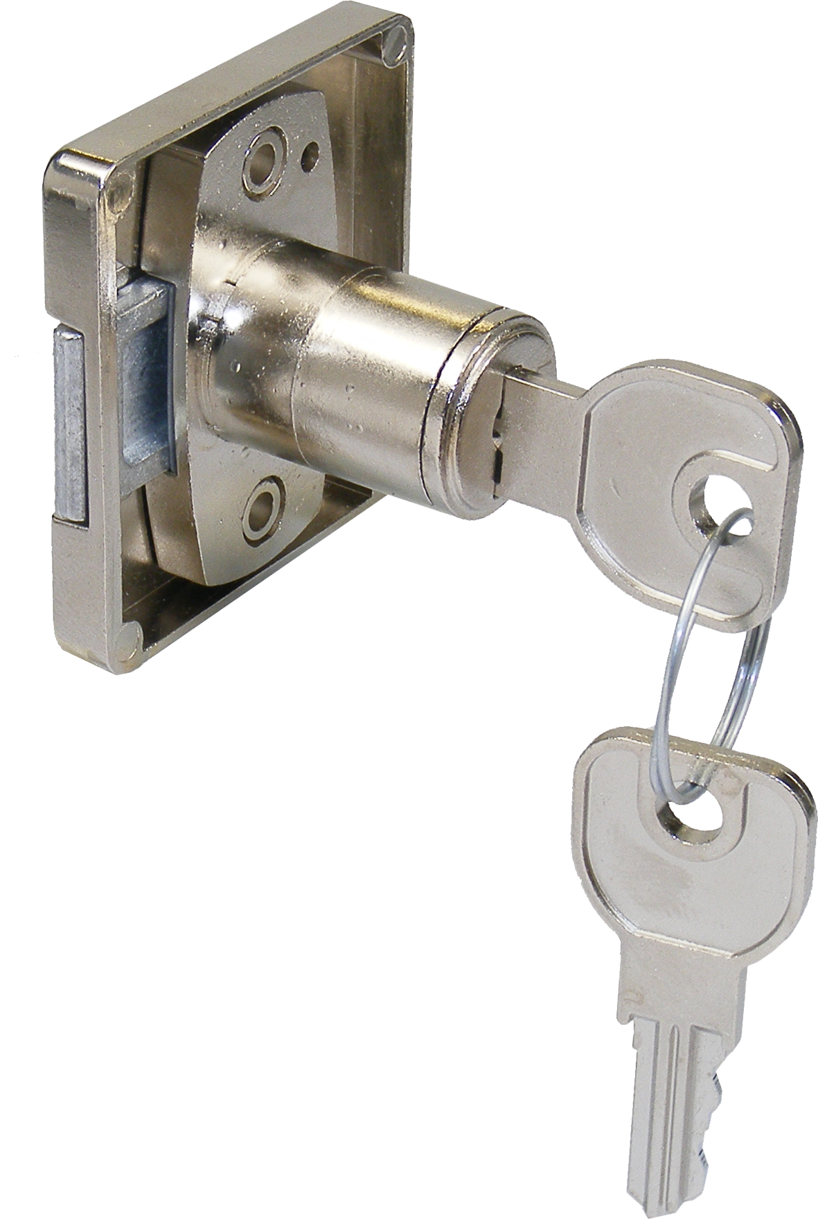 Lehmann Right Hand Square Cupboard Lock To Differ Right Hand Square Cupboard Lock To Differ Measurements Differs Range : L2501 - L2700 Right Handed Lock Non Mastered 16.5mm Diameter Each lock is available with 200 differs (non-mastered).  Each lock is supplied with 2 steel keys Manufactured by Martin Lehmann Right Hand Square Cupboard Lock To Differ Description Martin Lehmann are now producing their own version of the fixed cylinder cupboard locks to follow on from the success of the Huwil version. Built to the same high standards of the Lehmann housing range. Cupboard locks are quick and easy to install with no rebating required with the latch sliding into a groove or behind an angled striker plate