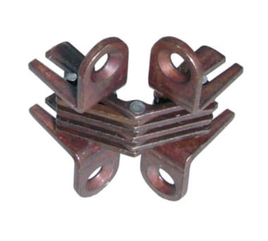 Bronze Plated 42 x 10mm Cylinder Hinges Bronze Plated 42 x 10mm Cylinder Hinges Measurements A=16mm B=16mm C=2mm D=43mm E=15.5mm F=15mm G=2mm 42mm x 10mm overall Screw Size – 3mm Csk (Not supplied)