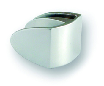 "Siso ""Badge"" Single Chrome Glass Door Handle ""Badge"" Single Chrome Glass Door Handle Measurements Style: Badge Glass Thickness: 4-6mm Maximum Door Size: 1000mm x 400mm Colour: Chrome Plated Material: Zamak Manufactured by Siso Siso ""Badge"" Single Chrome Glass Door Handle Description Glass door handle for when only a single door is required.The complete range in one design is availble from top & bottom hinges, centre hinges, locks, lock strikers & handles all perfectly complimenting each other. No drilling required the glass just slots in and then you can tighten up with the grub screw provided. Used when requiring an inset design. Various styles are availble."