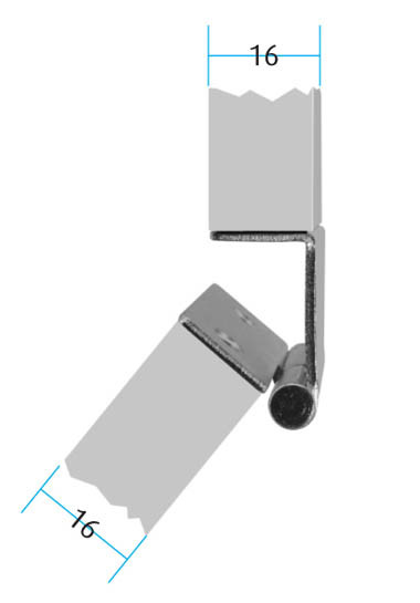 Lift Off Pivot Hinge Left Hand 270 Degree Opening Colour : Zinc Plated Screw Size – 3mm Csk (Not supplied) Material : Steel
