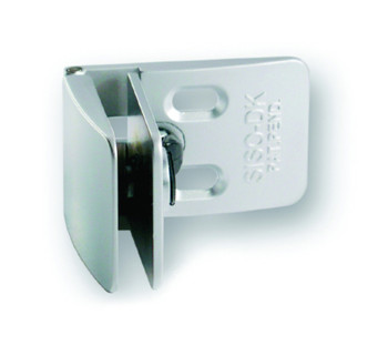 Square Centre Glass Door Hinge Chrome Plated