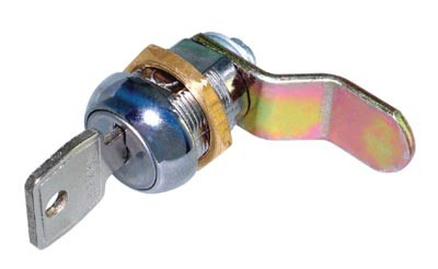 Threaded Cam Lock & Cranked Cam Threaded Cam Lock & Cranked Cam Measurements Supplied with 2 steel keys Key Range : Differs Non-mastered Cam Dimensions : 36mm x 7.5mm Cranked  Manufactured by Lowe & Fletcher Threaded Cam Lock & Cranked Cam Description Threaded cam locks are designed for use in wooden & metal units where a rotating cam is required to secure a door or drawer. Supplied wth a securing nut to prevent the lock rotating within the unit.