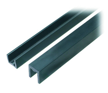 Sliding Door Channel / Single / Glass Size 9.5mm / 14.2mm High / 2m