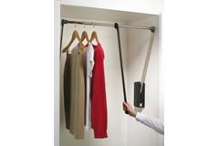 Pull Down Wardrobe Rail