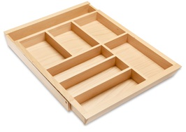 Mini Adjustable Cutlery Tray 450mm Drawer Box