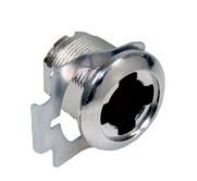 MLM Lehmann 20mm Threaded Cam Lock Housing 90 Rotation MLM Lehmann 20mm Threaded Cam Lock Housing 90 Rotation Measurements Requires a 16.5mm cylinder HERE Thread length: 20mm Cam Rotation: 9-12 Supplied with a clip for metal cabinets Finish: Nickel Plated Material: Steel Manufactured by MLM Lehmann MLM Lehmann 20mm Threaded Cam Lock Housing 90 Rotation Description Threaded cam lock housing can be used on metal or wooden cabinets with 15mm, 20mm & 25mm material thickness. The cam (not supplied) rotates through either 90 or 180 degrees depending on the option chosen. A spiked nut is available to prevent the thread turning when used with wood.  Supplied as a housing only and is compatible with all of the MLM Lehmann's 16.5mm cylinders as well as the range of furniture handles. MLM Lehmann housings are available in many different formats so whether you are looking for cam locks, drawer locks, espagnolette locks & glass door locks amongst others then MLM Lehmann's housings are an ideal choice. All the housings are available with a barrel diameter of 16.5mm or 18mm with corresponding cylinders to match.