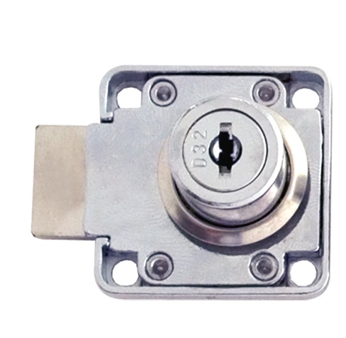 Square Cupboard Lock Differ 19x22mm